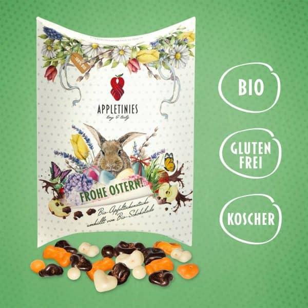 Frohe Ostern: Bio Schokolade als Ostergesschenk