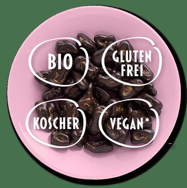 bio, vegan, glutenfrei, koscher